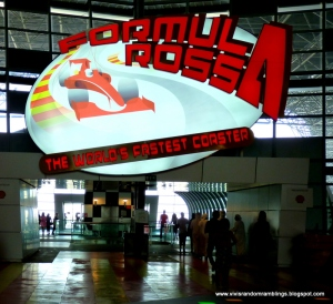 formula rossa ferrari world 2