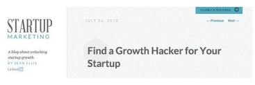 Growth Hacker Ad