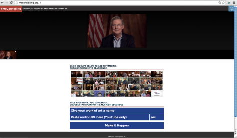 #McConnelling Website