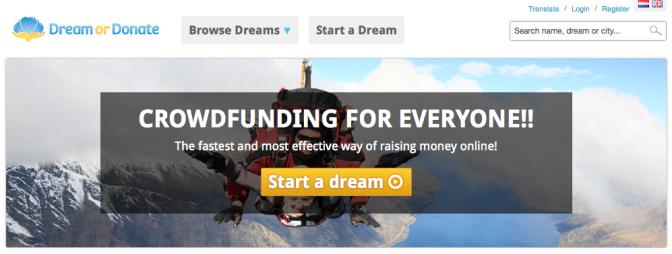 Dream or Donate
