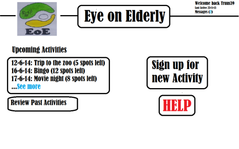 Eye on elderly website from POV elder v.2