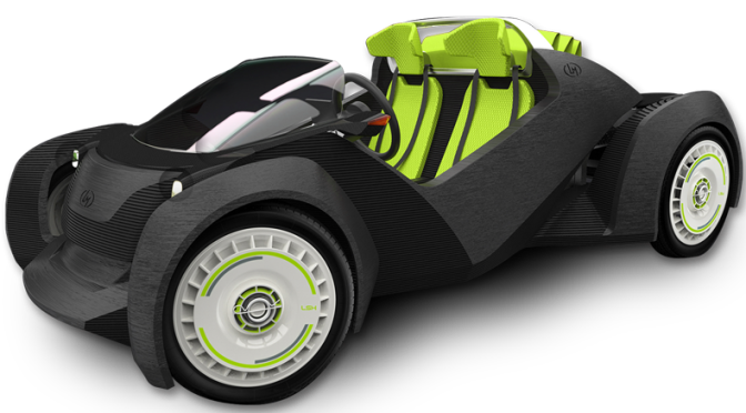 Introducing The World's First 3D printed Electric Vehicle – The Strati