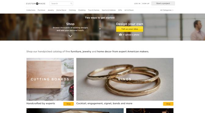 A closer look at CustomMade.com
