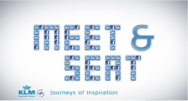 From social media business to social business; introducing KLM's Meet & Seat initiative