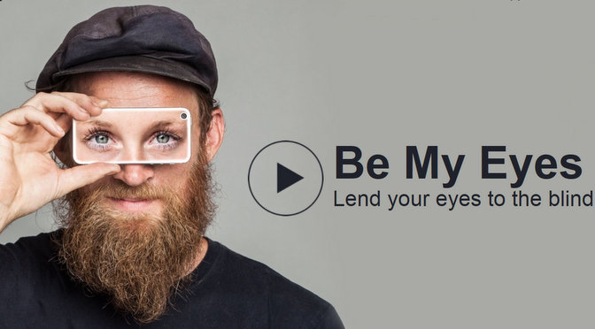 Be My Eyes – A whole cornucopia of crowdsourcing mechanisms