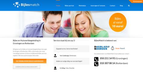 BijlesMatch FrontPage 2.0.