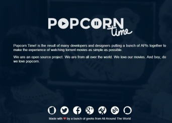 popcorn time about
