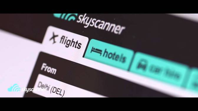 Skyscanner: Your digital traveling buddy