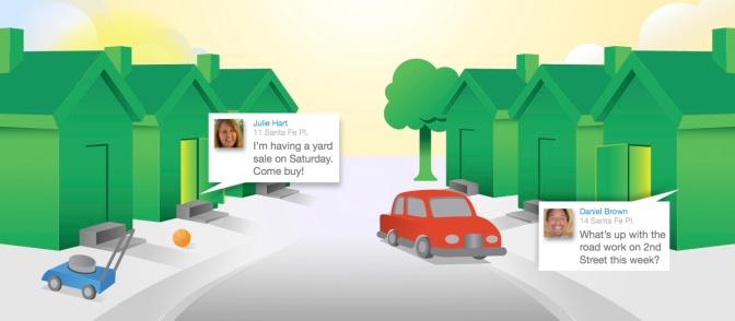 """""""Better a good neighbor than a far friend"""". Nextdoor, the social network for your neighborhood."""