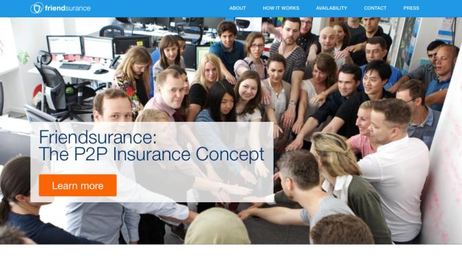 Friendsurance: Social risk sharing