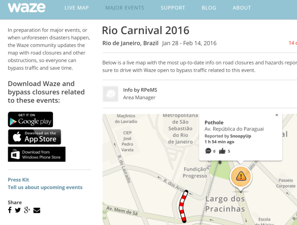 Waze: Crowd sourcing for real time navigation?   Consumer