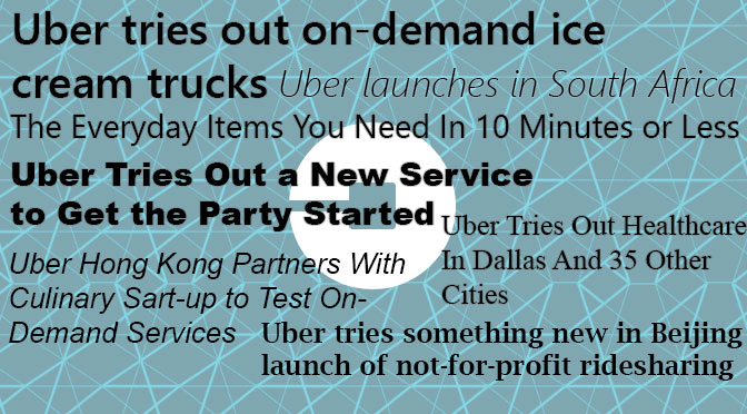 Ansoff (1957) meets consumer value creation and Uber's growth opportunities