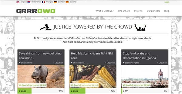 Grrrowd: The outsourcing of justice