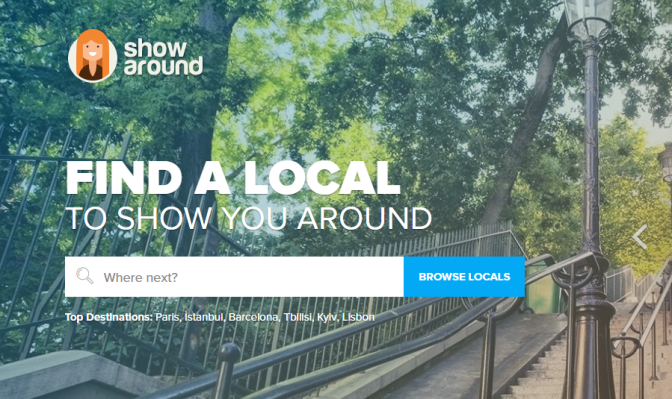Showaround: Disrupting the Industry of City Tours