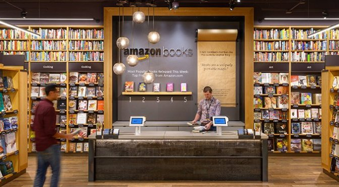 From on-line to off-line successes, Amazon Books.