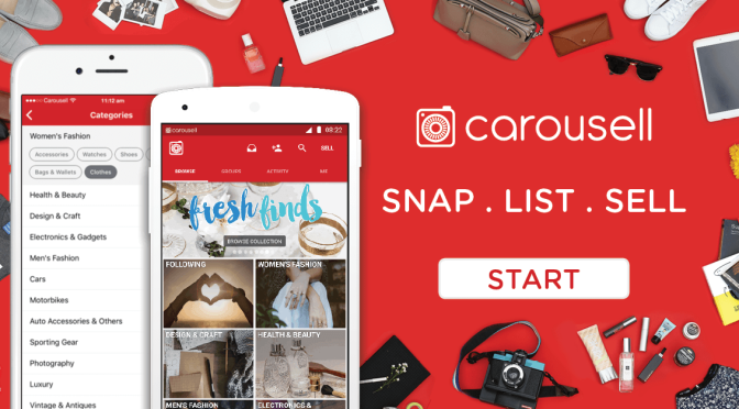 Selling couldn't be more easy- just snap, list and sell on Carousell!