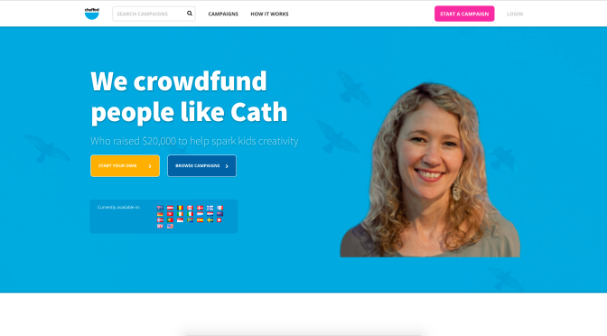 Crowdfunding for charity on chuffed.org