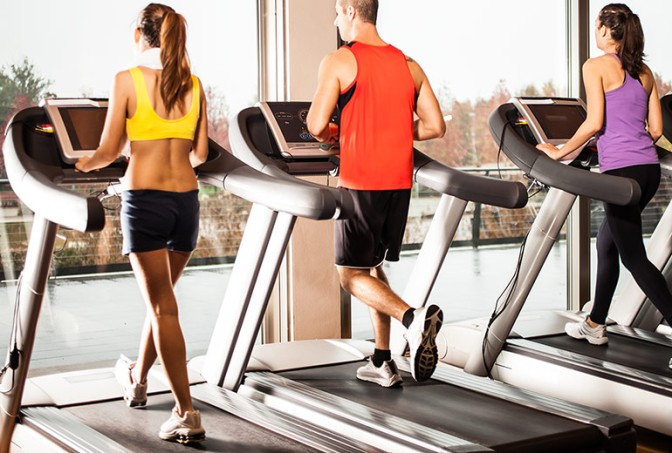 Studio – Have fun running on a treadmill