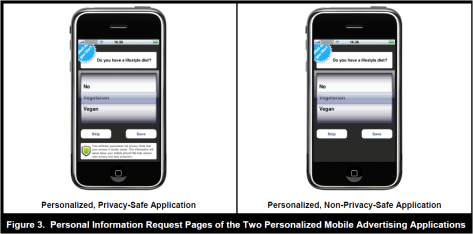 Personalized application