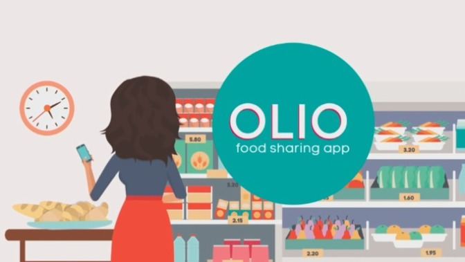 """Tinder for leftovers"", or how OLIO helps you find the best match for your unwanted food"