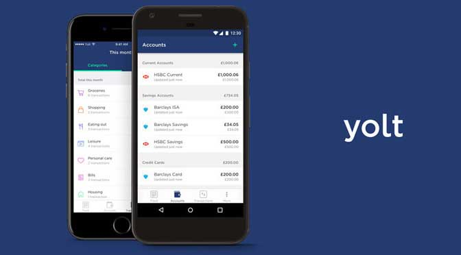 Yolt: own back your financial data