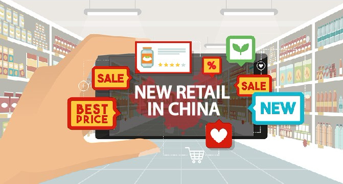 Online commerce and new retail: A discussion of the emergence of social commerce and service commerce in China