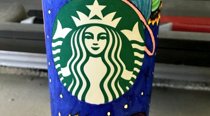 Using a White Cup for Crowdsourcing: a Starbucks Initiative