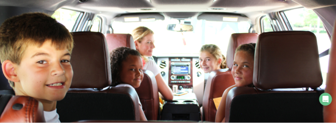 Just say 'go' to your kids, with 'Gokid' ridesharing..