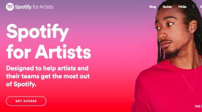 Spotify for Artists — Opening Spotify to independent artists, who Will benefit? The superstars or struggling artists of the industry?